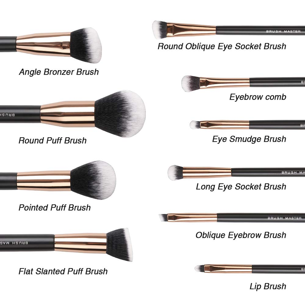Complete Makeup Brush Set With Coupon Code